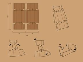 Cartón bench