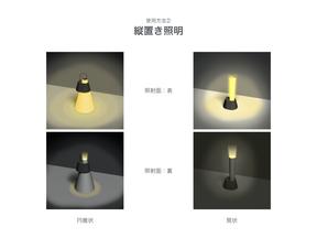 普段使いから緊急時の使用まで。懐中電灯にも照明にもなる「フレキシブルな紙の照明」の提案