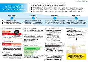 AIR BATH 〜うつ病を予防する空気のお風呂〜